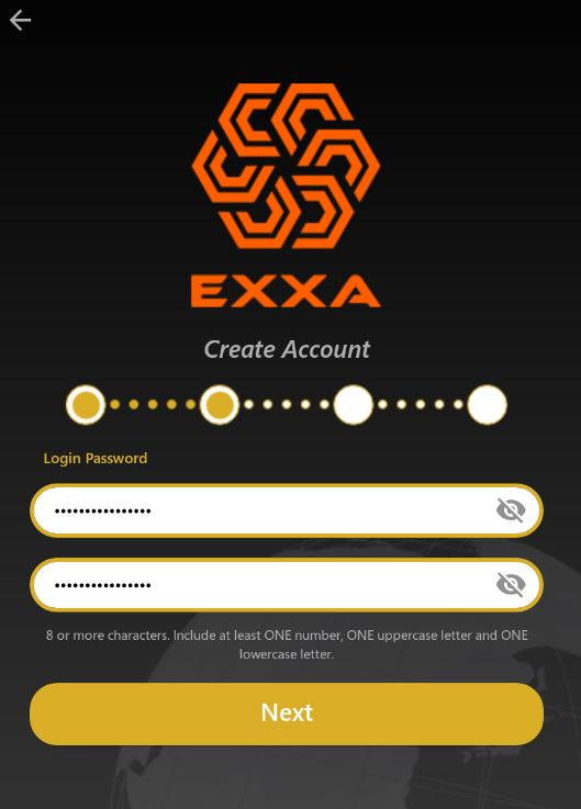 Password EXXA