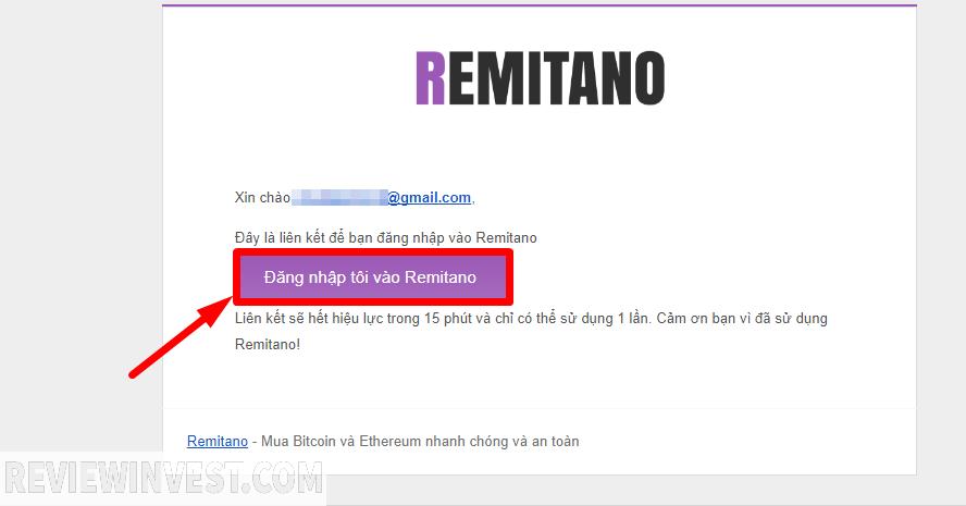 Xác thực email đăng ký