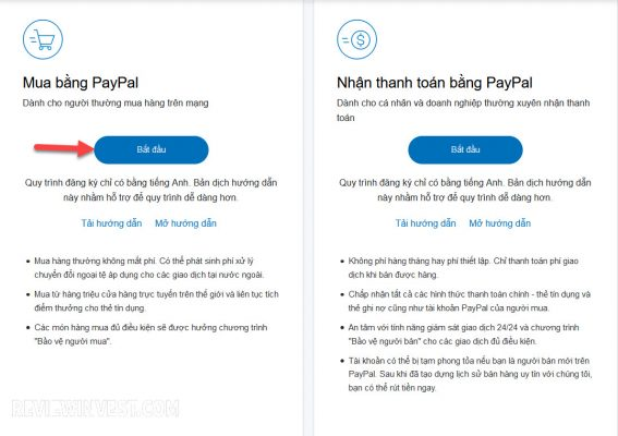 Mua bằng Paypal
