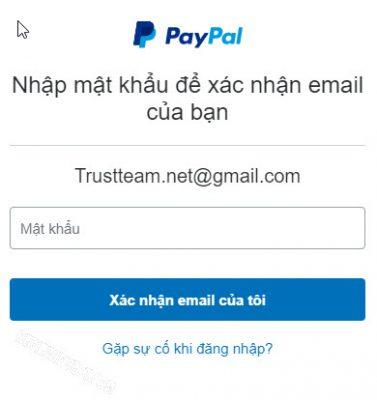 Hoàn thành xác minh email