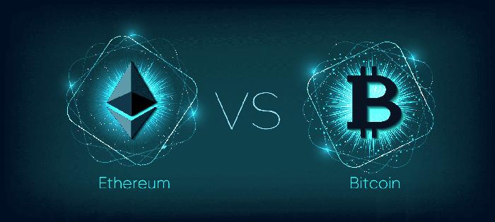 Ethereum và Bitcoin