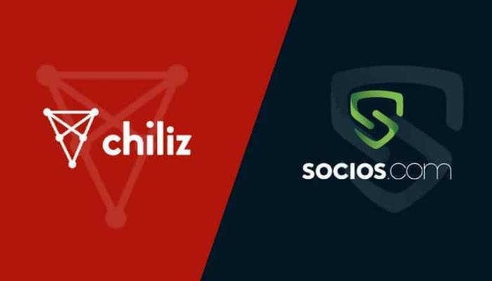 Nền tảng Chiliz hoạt động thông qua Socios. com
