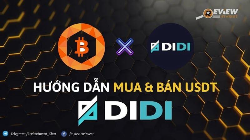 Mua bán USDT Didi trên Muabancoin.io