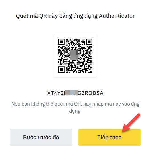 Quét Qr Code để được OTP