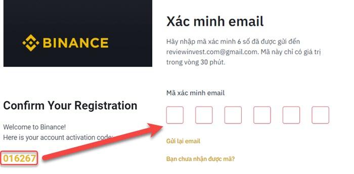 Xác minh email đăng ký